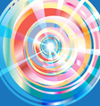 abstract multi-colored pattern vector image vector image