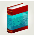 Book Aquarium vector image