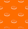 cloud pattern seamless vector image vector image
