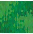 Green Geometric Background vector image vector image