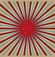 grunge paper retro burst background vector image vector image