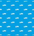 hand holding a credit card pattern seamless blue vector image vector image