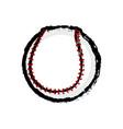 isolated baseball ball icon vector image