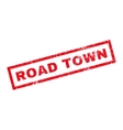 Road Town Rubber Stamp vector image vector image