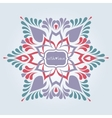 Soft ornate background vector image vector image