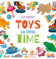 toys for bato play toyshop vector image