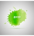 Watercolor background Abstract shape vector image