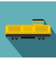 Freight train icon flat style vector image vector image