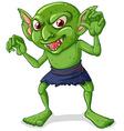 Goblin vector image vector image