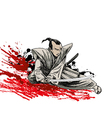 samurai samurai 01 vector image