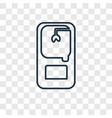 toy machine concept linear icon isolated on vector image