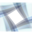 Window from blue waves vector image vector image