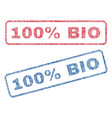 100 percent bio textile stamps