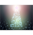 abstract christmass tree vector image vector image