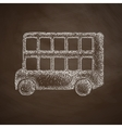 bus double decker icon vector image vector image