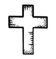 Cross doodle vector | Price: 1 Credit (USD $1)