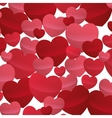 many hearts love decoartive valentine day design vector image vector image