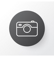 photographing icon symbol premium quality vector image vector image