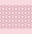 seamless floral pattern flowers with petals vector image vector image
