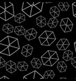 seamless geometric pattern on the wallpaper vector image