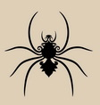 Spider ornament vector image vector image