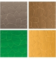 Stone textures vector image vector image