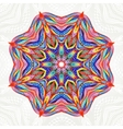 Abstract round lace pattern Mandala Round vector image