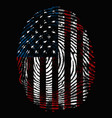 american dna vector image vector image