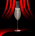 cabaret champagne vector image vector image