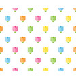 colorful tulip seamless pattern for background vector image vector image