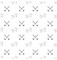 polo seamless pattern running horses and cross vector image