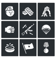 Set of Russia Airborne troops Icons