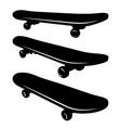skateboard 005 vector image