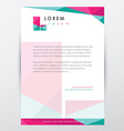 Company brochure Template vector image vector image