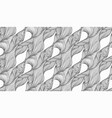 modern sketch flow pattern abstract geometric vector image