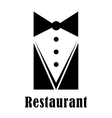 Restaurant badge or sign vector image vector image