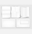 templates set corporate identity paper sheet vector image vector image