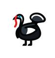 turkey sketch icon vector image vector image