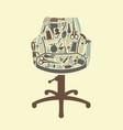 barbershop symbol vector image