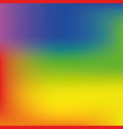 bright rainbow mesh background vector image vector image