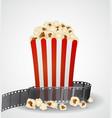 cinema movie background vector image vector image