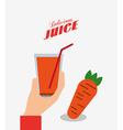 delicious fruits design vector image vector image