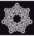 doily vector image vector image