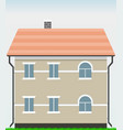 house for sale art object vector image
