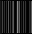 line seamless pattern white lines on black vector image vector image