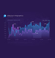 modern infographic background vector image vector image