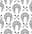 Native American Seamless Patterns vector image vector image