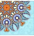 pattern in ukrainian oriental ethnic style vector image