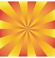 Sunburst background vector image