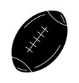 american football balloon icon vector image vector image